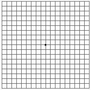 Amsler Grid for eye testing