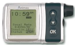 Animas IR-1250 Insulin Pump