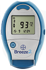 Bayer Contour Breeze 2 Glucose Meter