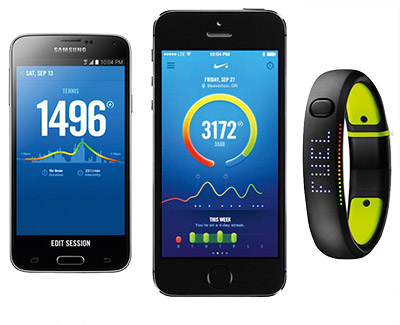Nike Fuelband and apps