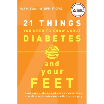 21 Things Diabetes Book Cover