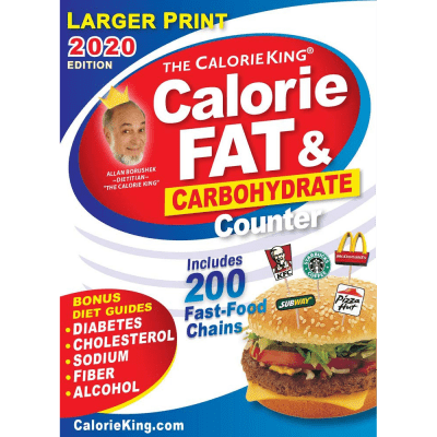 Large Print Calorie King 2020